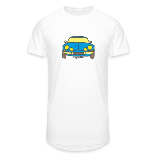 Voiture ancienne mythique française - T-shirt long Homme