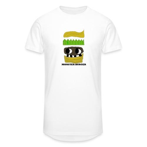 MONSTER BURGER - Männer Urban Longshirt