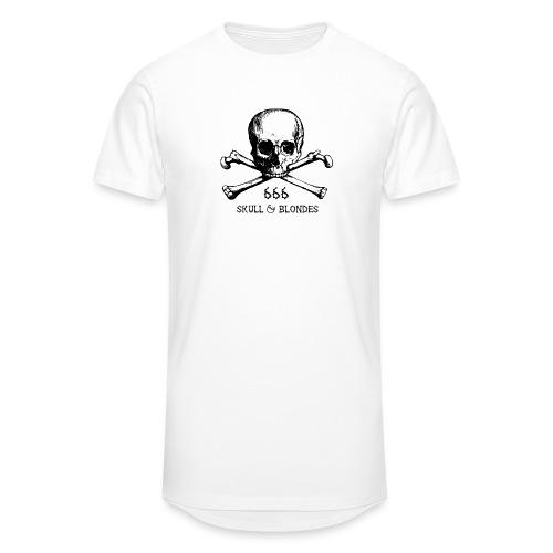 skull & blondes (black) - Männer Urban Longshirt
