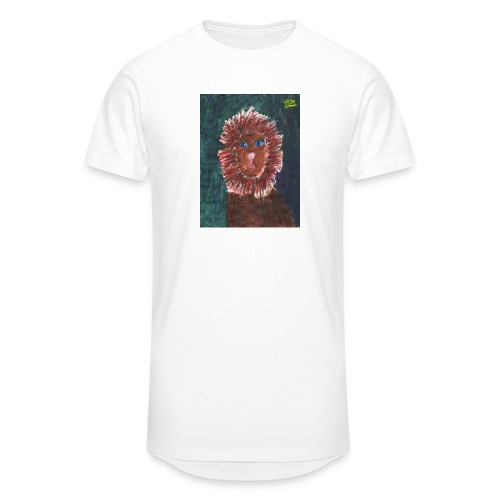 Lion T-Shirt By Isla - Men's Long Body Urban Tee