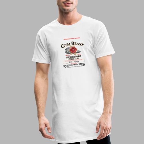 GYM BEAST - Männer Urban Longshirt