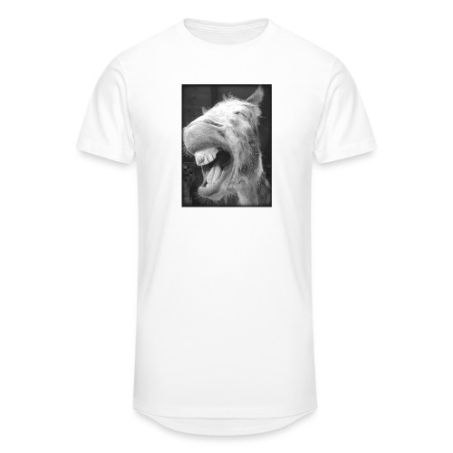 lachender Esel - Männer Urban Longshirt