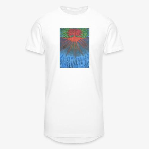 Drzewo Źycia - Długa koszulka męska urban style