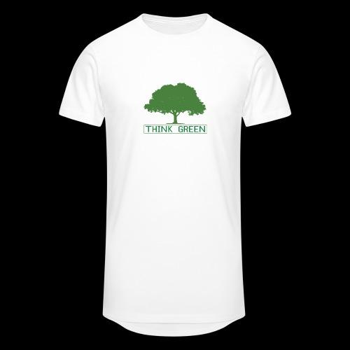 think green - Camiseta urbana para hombre