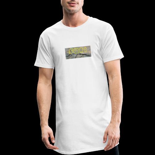 swai stoned yellow - Männer Urban Longshirt