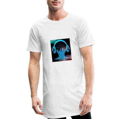 I love music - Camiseta urbana para hombre