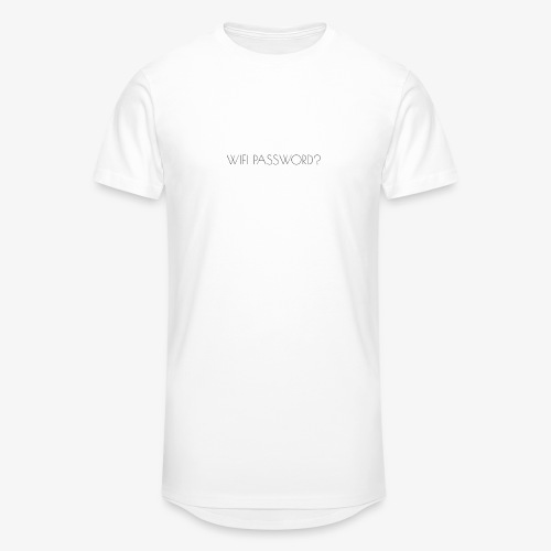 WIFI PASSWORD? - Men's Long Body Urban Tee