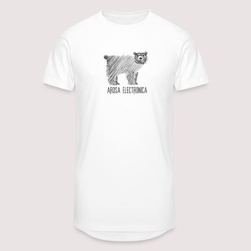 Bär Schwarz - Männer Urban Longshirt