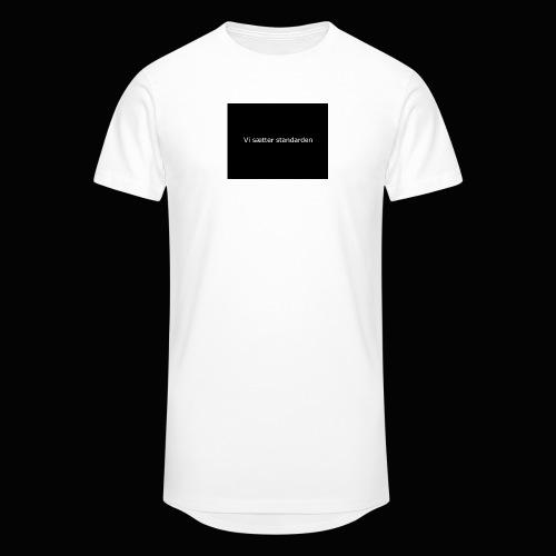 Vi Sætter Standarden - Herre Urban Longshirt