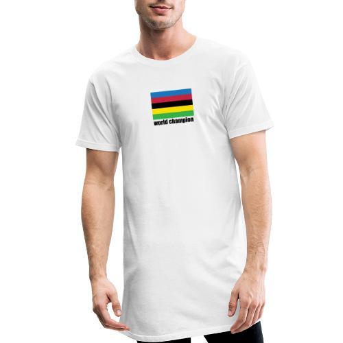world champion cycling stripes - Mannen Urban longshirt