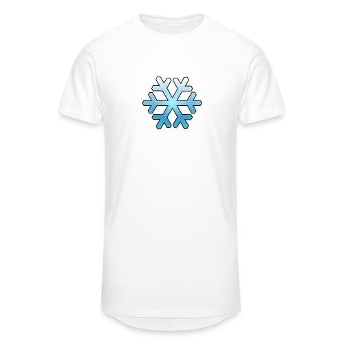 Schneeflocke - Männer Urban Longshirt