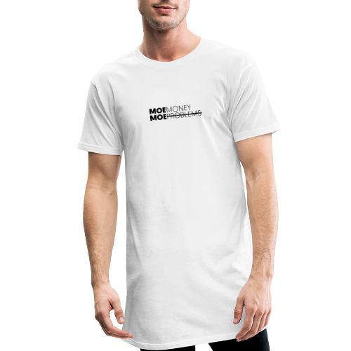 MOEMoneyMoeproblems BLACK - Männer Urban Longshirt