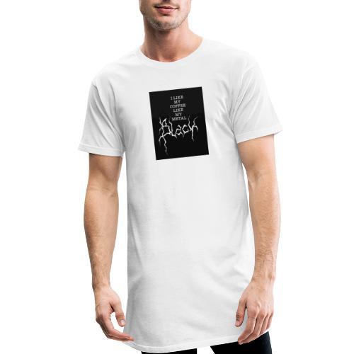 Kaffe - Urban lång T-shirt herr