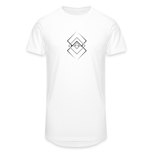 Izanami Minimal White - Männer Urban Longshirt