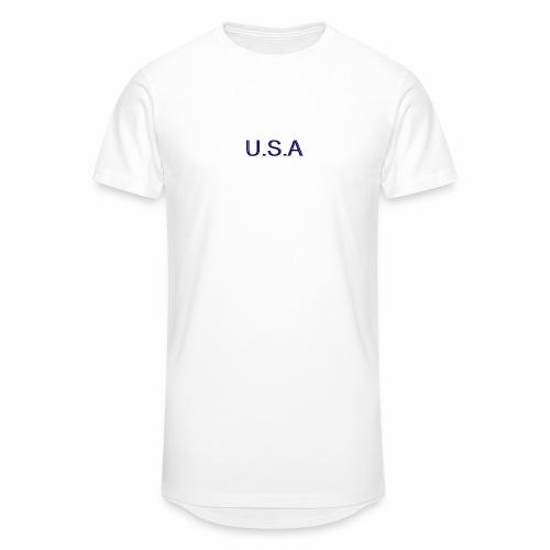 USA LOGO - T-shirt long Homme