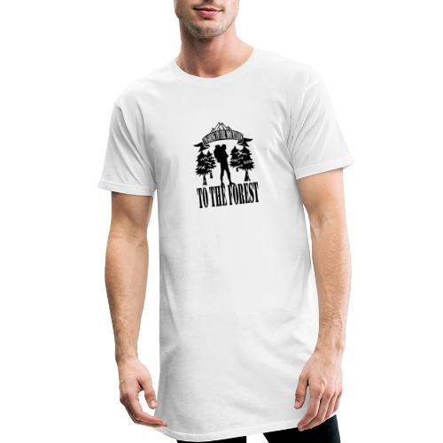 I m going to the mountains to the forest - Men's Long Body Urban Tee