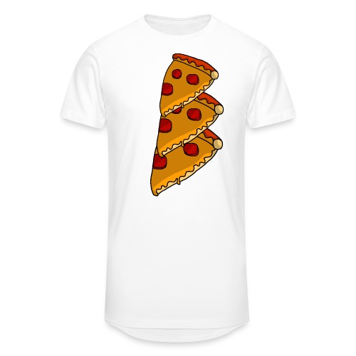 pizza - Herre Urban Longshirt