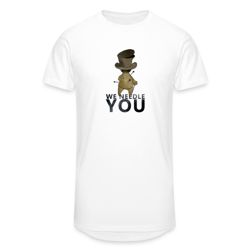 WE NEEDLE YOU - T-shirt long Homme