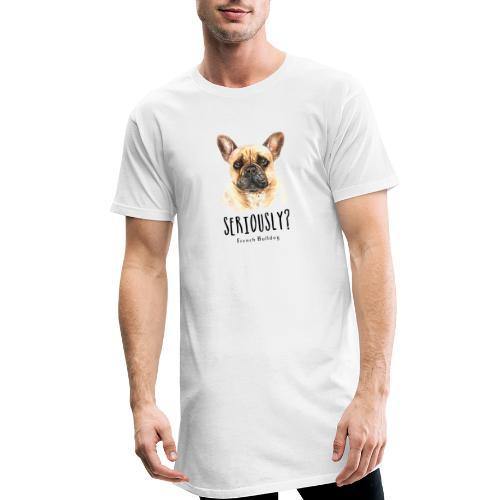 Grappige Franse Bulldog - Mannen Urban longshirt