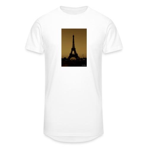 Paris - Men's Long Body Urban Tee