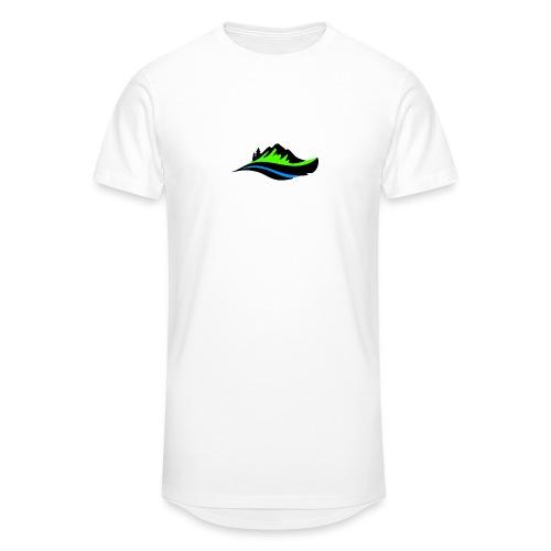 Modern Hoodie Unisex - Urban lång T-shirt herr