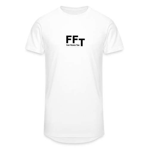 FFT simple logo letters - Men's Long Body Urban Tee