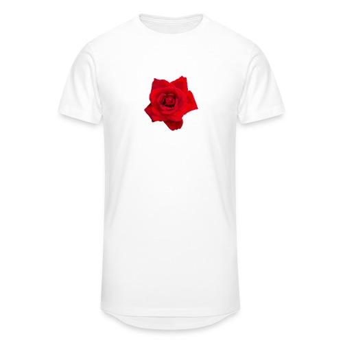 Red Roses - Długa koszulka męska urban style