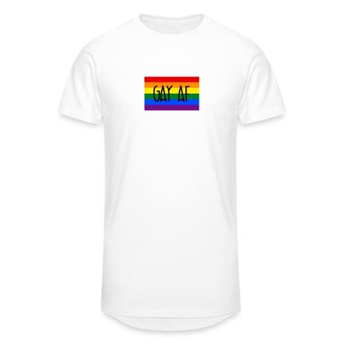 gay af - Männer Urban Longshirt