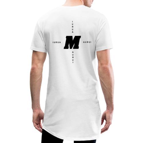 Maurui kreuz Logo - Männer Urban Longshirt