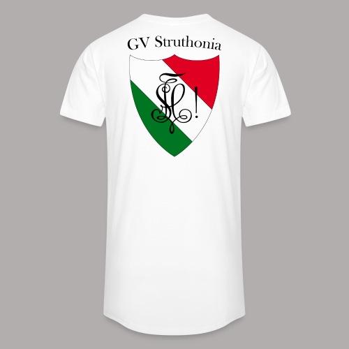 Wappen Struthonia beschriftet - Männer Urban Longshirt