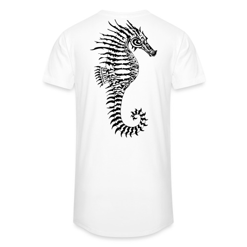 Alien Seahorse Invasion - Men's Long Body Urban Tee