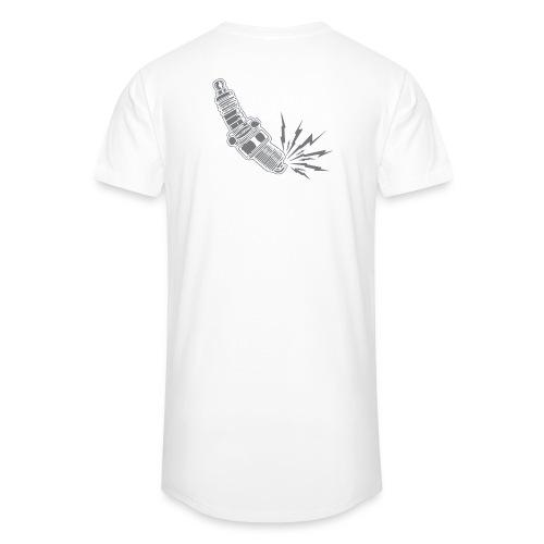 Fehlzünder Kontrast-Pullover - Männer Urban Longshirt