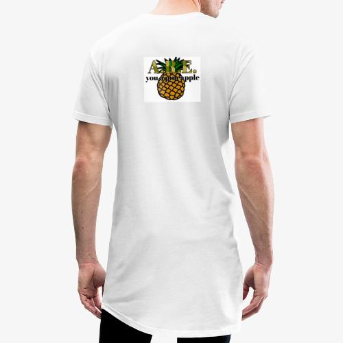 Are you a pineapple - Men's Long Body Urban Tee