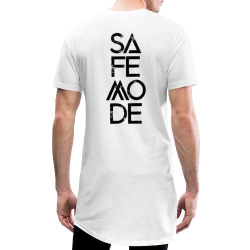 Safemode 2020 - Logo black - Men's Long Body Urban Tee