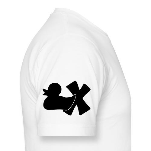 Ente mit X v3 3 klein - Männer Urban Longshirt