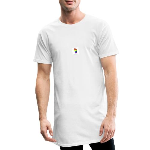 Lgbt Faust Protest weißer Hintergrund - Männer Urban Longshirt