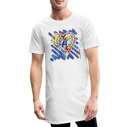BlueLove - Männer Urban Longshirt