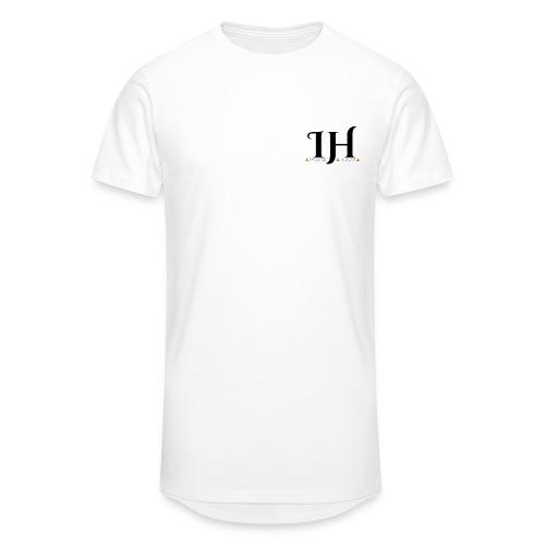 IHC ML Triangle logo Transparent png - Men's Long Body Urban Tee