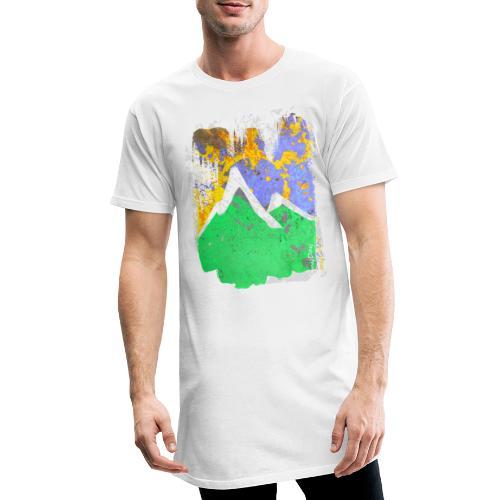 BergAbend - Männer Urban Longshirt