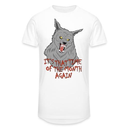 That Time of the Month - Długa koszulka męska urban style