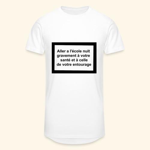 L'école tue - T-shirt long Homme