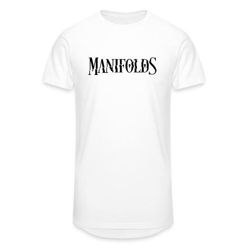 Manifolds (White) - Men's Long Body Urban Tee