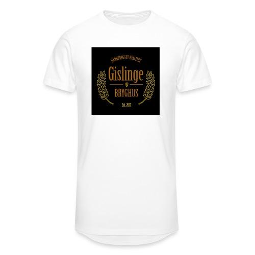 Sort logo 2017 - Herre Urban Longshirt