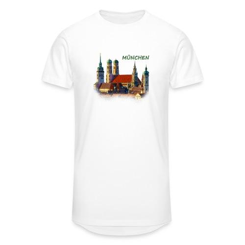 München Frauenkirche - Männer Urban Longshirt