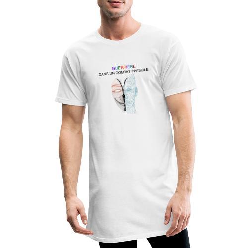 Guerrière dans un combat invisible 02 - T-shirt long Homme