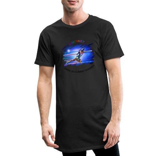 Guerrière dans un combat invisible - T-shirt long Homme