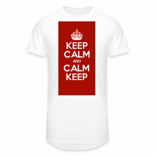Keep Calm Original Shirt - Men's Long Body Urban Tee