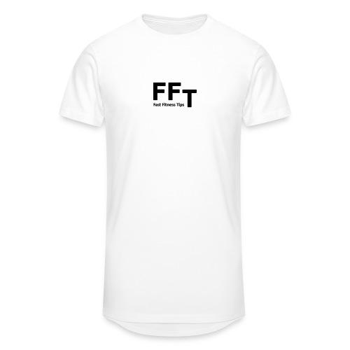 FFT simple logo letters - Men's Long Body Urban Tee