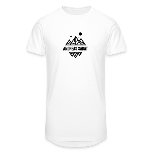 sabat logo black - Herre Urban Longshirt