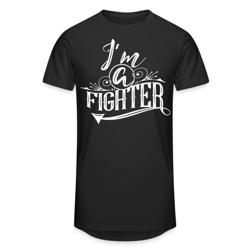 I'm a Fighter Design - Männer Urban Longshirt